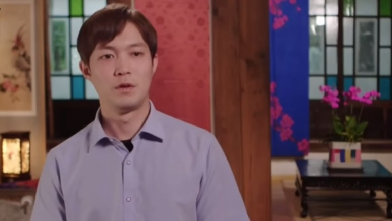 Jihoon on 90 Day Fiance: The Other Way. Pic credit: TLC