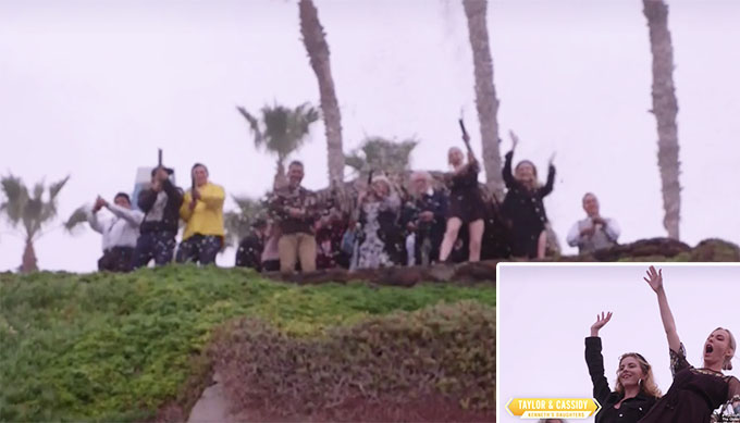 90 day fiance other way Kenny's family celebrating on top of ocean cliff for proposal