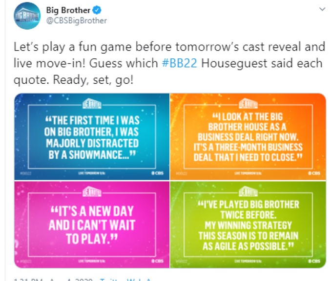 CBS BB Hints