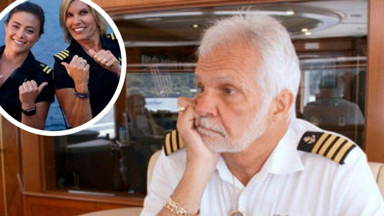 Captain Lee calls out Captain Sandy for yacht hierarchy.