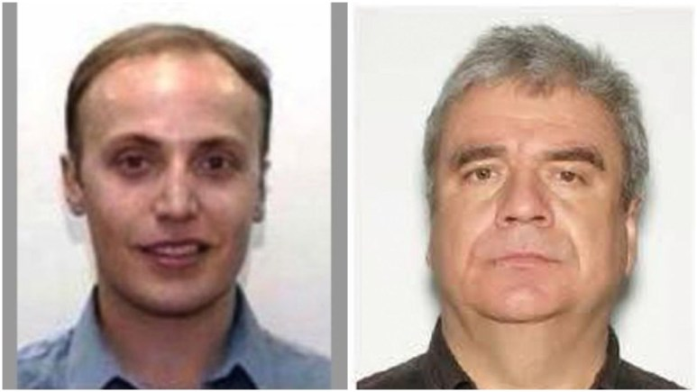 Mugshots of Demitry Papasotiriou-Lanteigne and Michael Ivezic