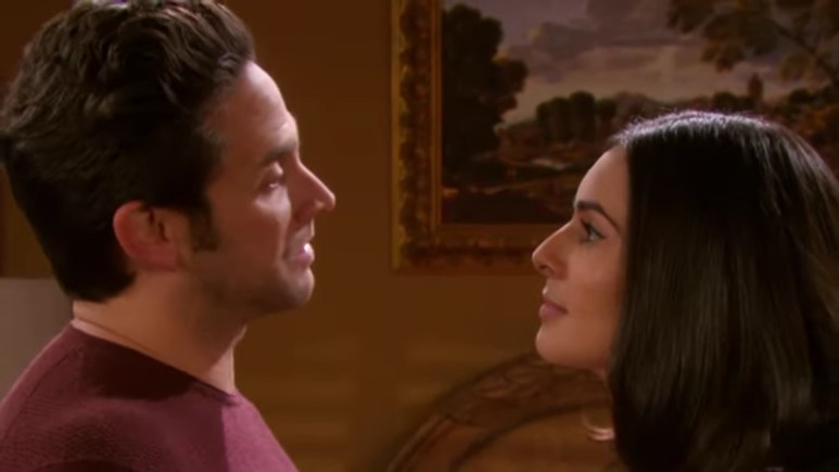 Brandon Barash and Camila Banus as Jake and Gabi on Days of our Lives.
