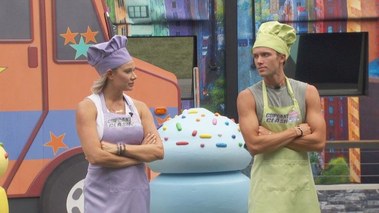 Janelle And Tyler Face Off