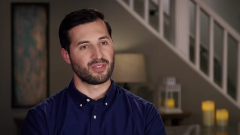 Jeremy Vuolo in a Counting On confessional.