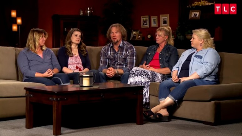Kody Brown and his wives on Sister Wives.