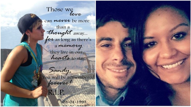 Family pics of Sandra Stevens, and Mark Reynoso and Maria Desantiago