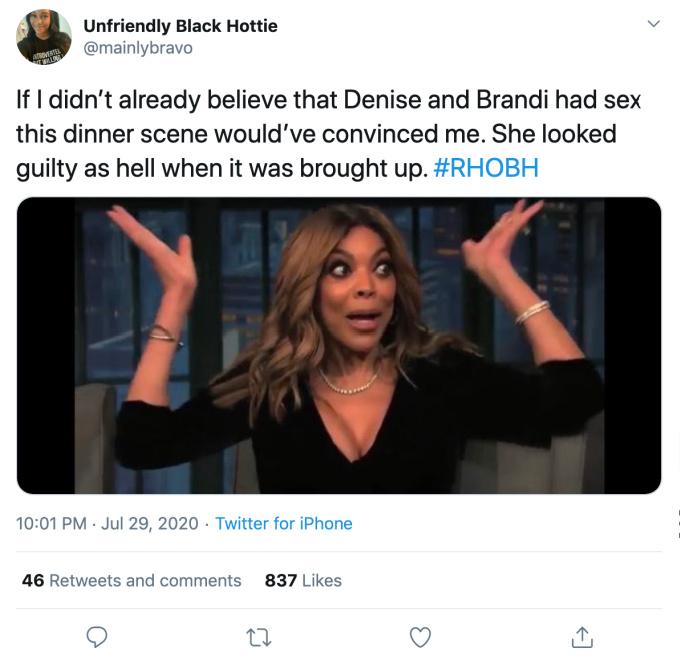 Denise Richards and Brandi Glanville