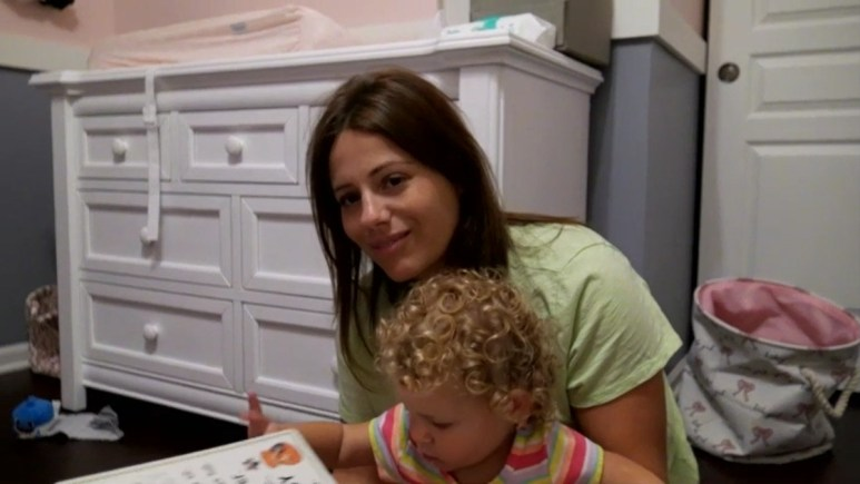 Ashley Petta and her daughter Mila