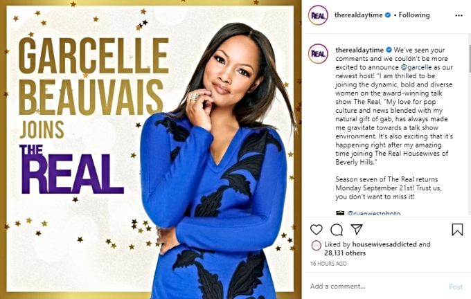 Garcelle beauvais announces hosting gig on The Real