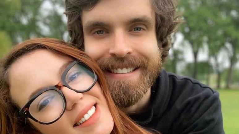 Jess Caroline and husband Brian Hanvey
