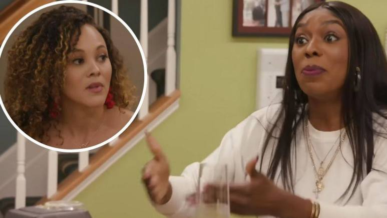 Ashley Darby and Wendy Osefo on RHOP.