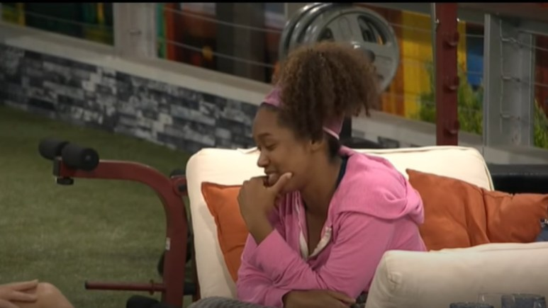 Bayleigh In BB22 Backyard