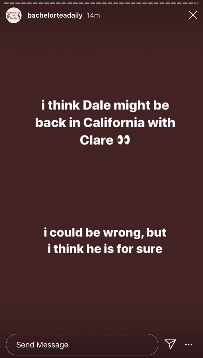 Dale and Clare