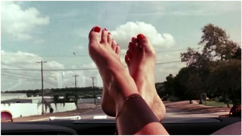 Quentin Tarantino's foot fetish