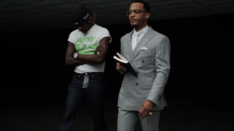T.I. and Young Thug in Ring music video