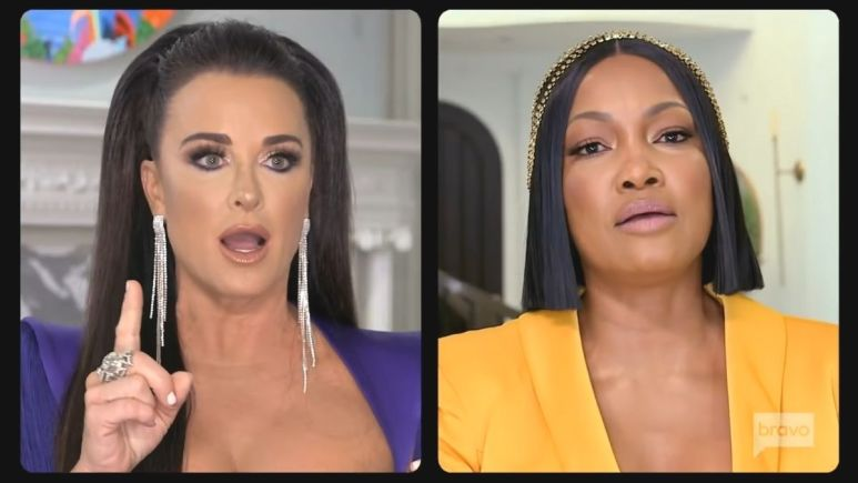Kyle Richards blasted Garcelle at the reunion for unpaid charity bid