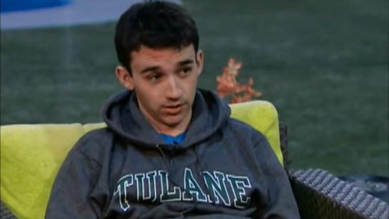 Ian Terry on Big Brother 14.