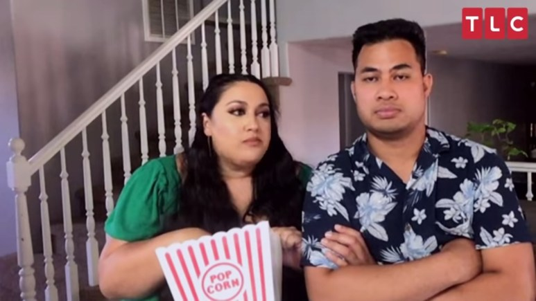 Kalani and Asuelu on the recent Tell All. Pic credit: TLC