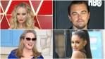 Jennifer Lawrence, Leonardo DiCaprio, Arianna Grande, and Meryl Streep on the red carpet