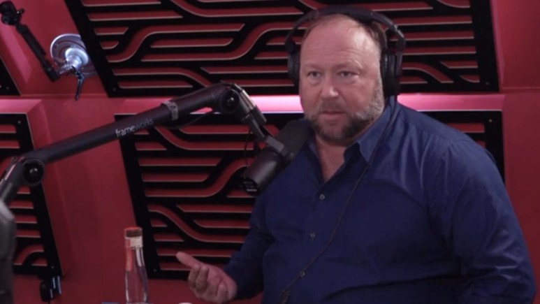 Alex Jones on The Joe Rogen Experience