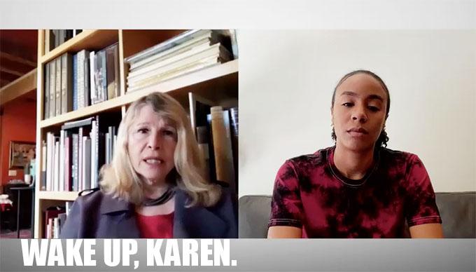 MAFS Dr. Pepper talking to Karen