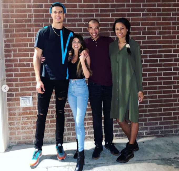Madison Prewett double dates with Michael Porter Jr and his sister Bri