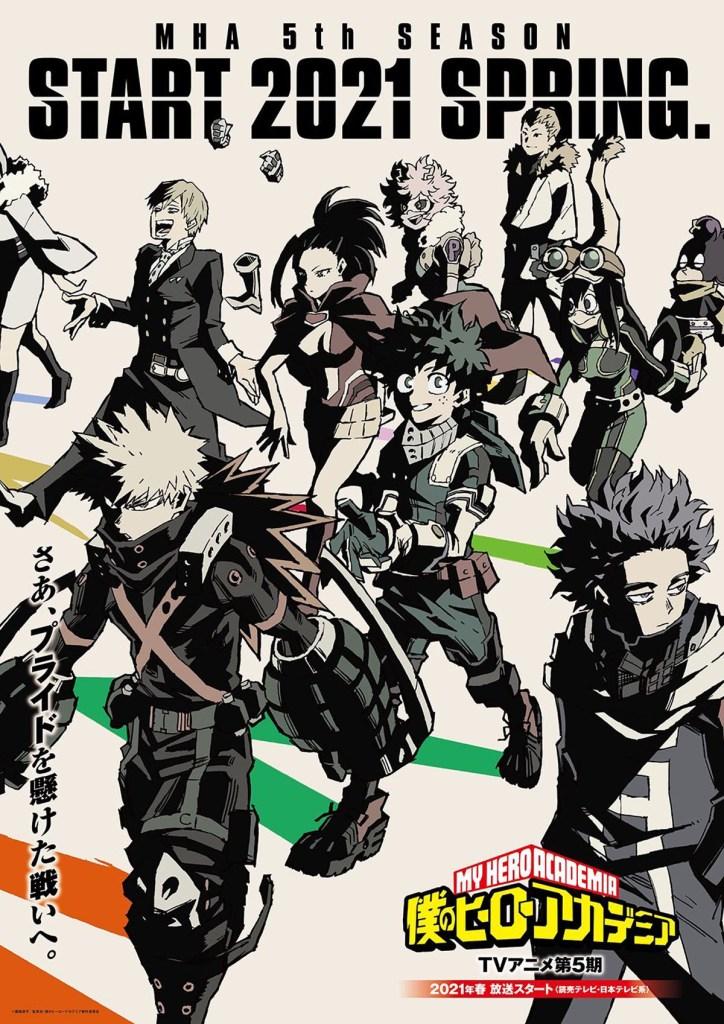 MHA Season 5 anime