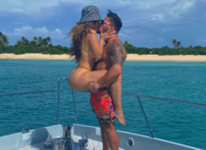 Ronnie Magro and new girlfriend Saffire Matos on vacation