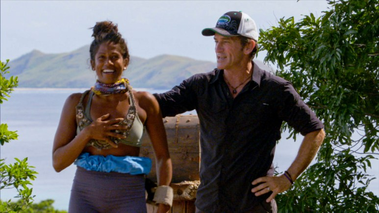 Jeff Probst Hosting Survivor
