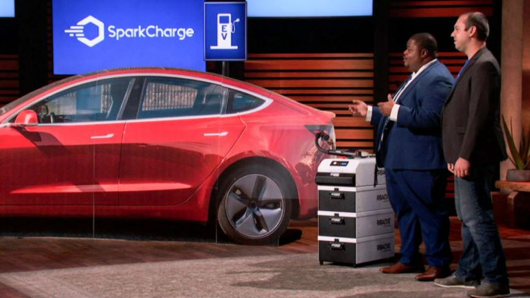 Electric vehicle adaptable charger SparkCharge is the latest Shark Tank product to make waves.