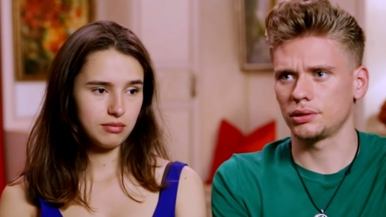 Olga Koshimbetova and Steven Frend on 90 Day Fiance
