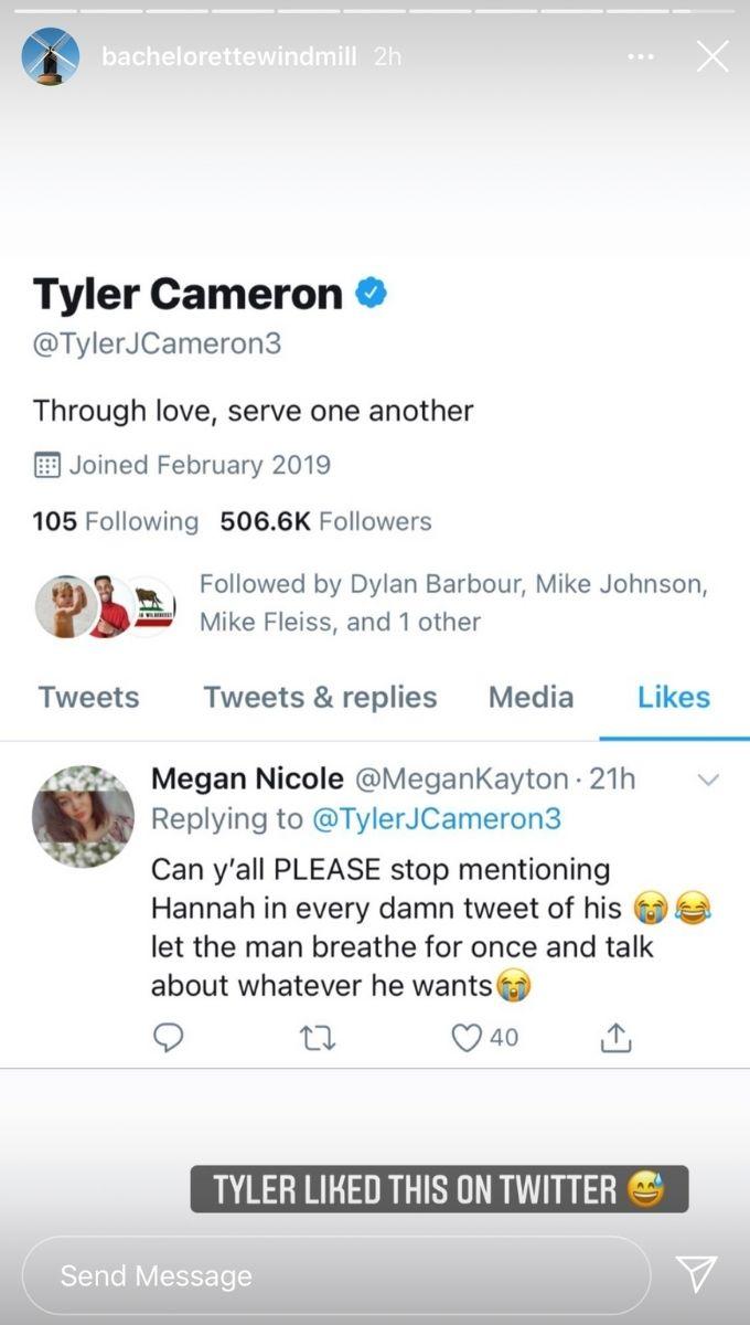 Tyler Cameron