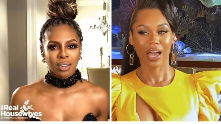 RHOP cast all have something to say about Candiace Dillard filing charges against Monique Samuels