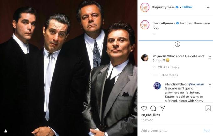 Erika Jayne posts meme suggesting someone quit the RHOBH