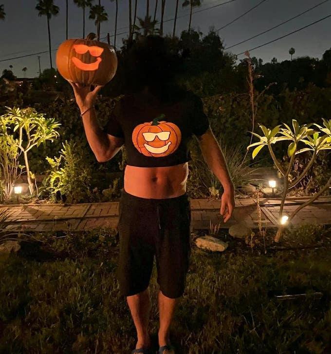 johnny bananas headless pumpkin costume