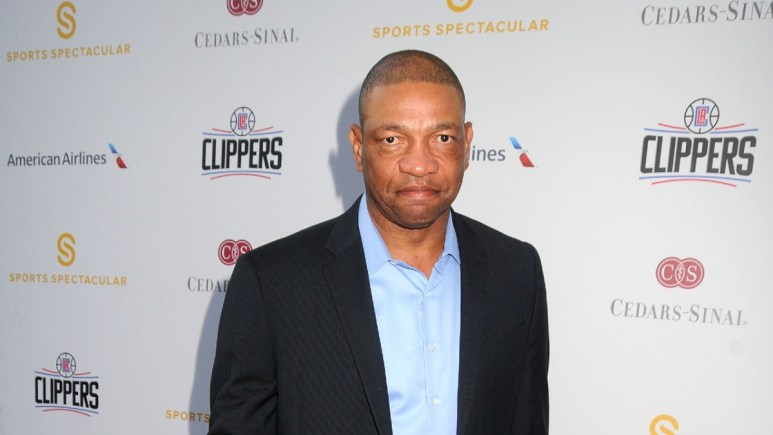 Doc Rivers at a gala function