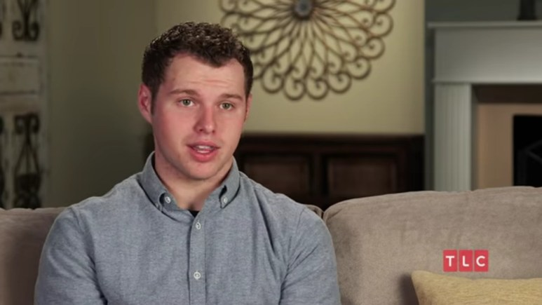Jeremiah Duggar in a Counting On confessional.