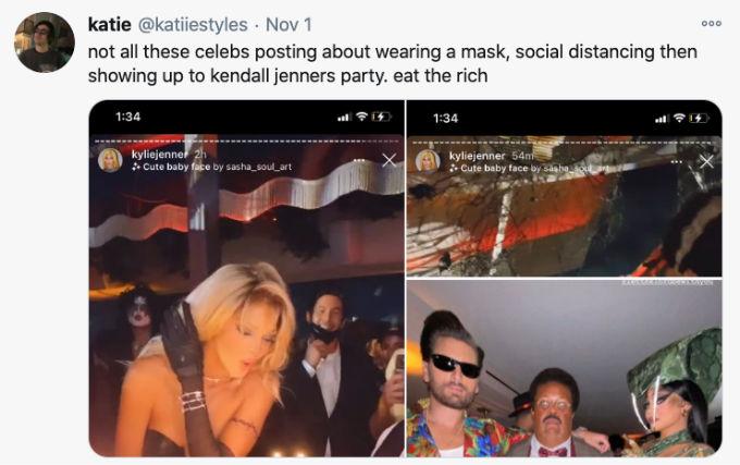 Kendall Jenner Halloween birthday Tweet.