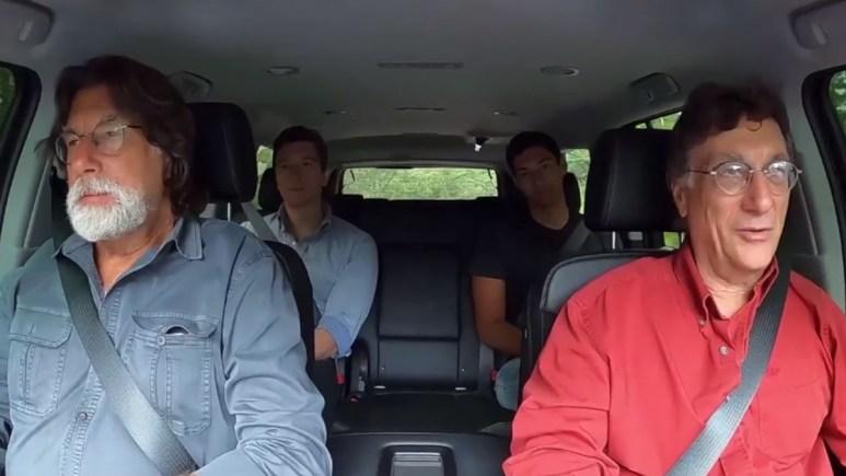 Lagina brothers drive back to Oak Island