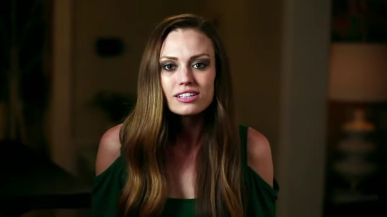 Lindsey in a Life After Lockup confessional.