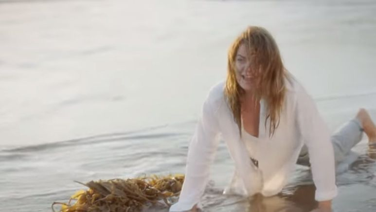 Meredith takes the plunge on Grey's Anatomy