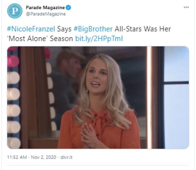 Nicole Parade Interview