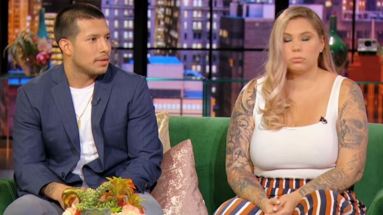 Kail Lowry and Javi Marroquin discuss their relationship during a reunion episode of Teen Mom 2