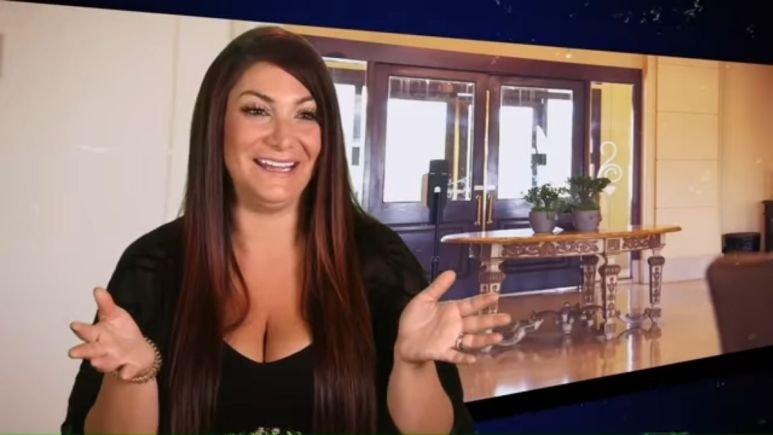 Deena Cortese during an episode of Jersey Shore Family Vacation