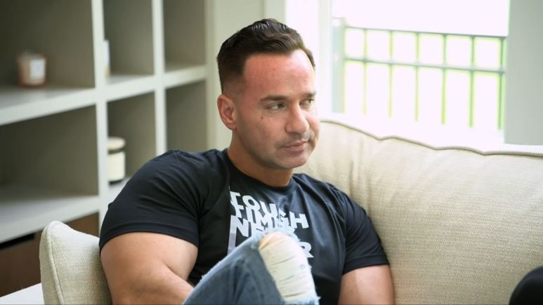 "Mike ""The Situation"" Sorrentino during a sneak peek of Jersey Shore Family Vacation season 4"