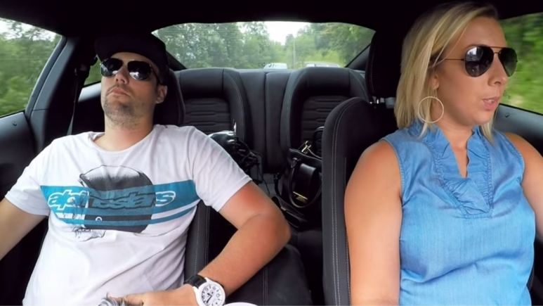 Ryan and Mackenzie Edwards driving to go house hunting on an episode of Teen Mom OG