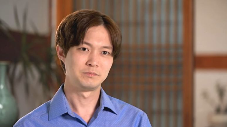 Jihoon Lee speaks in a confessional during 90 Day Fiance.