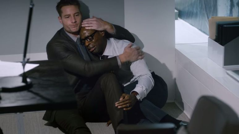 Kevin helps Randall on This Is Us