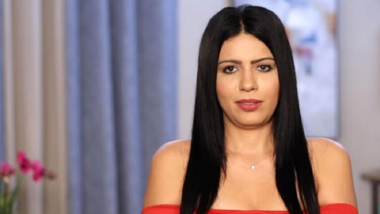 Larissa Lima speaks for a confessional interview while filming 90 Day Fiance.