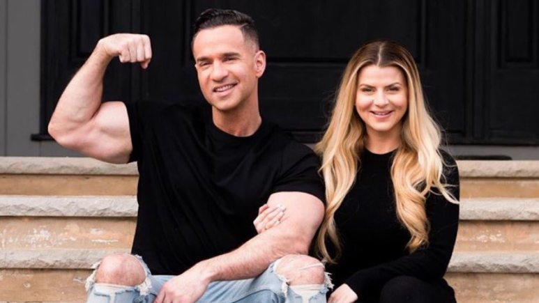 jersey shore couple mike the situation and lauren sorrentino